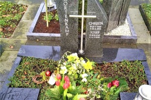 Herzebrock Grabstein Urnengrab