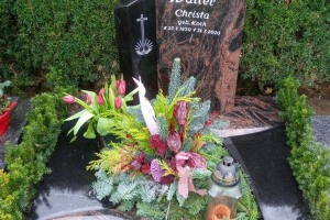 Münster Telgte Grabstein Urnengrab pflegeleicht