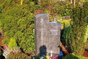 Vorhelm, Grabstein zweiteilig
