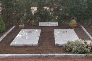 Warendorf, pflegeleichte Grabgestaltung aus Granit