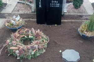 Ladbergen, Doppelgrab mit Ornament