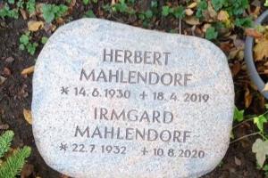 Steinhagen Grabsteinplatte