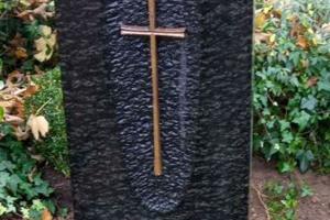 Warendorf Grabstein mit Kreuz