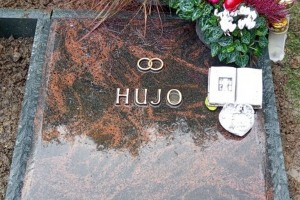Werl Grabstein liegend Abdeckplatte