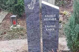Grabstein zweiteilig