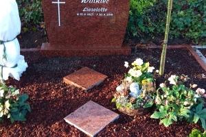 Werther, Grabstein Doppelgrab Vanga