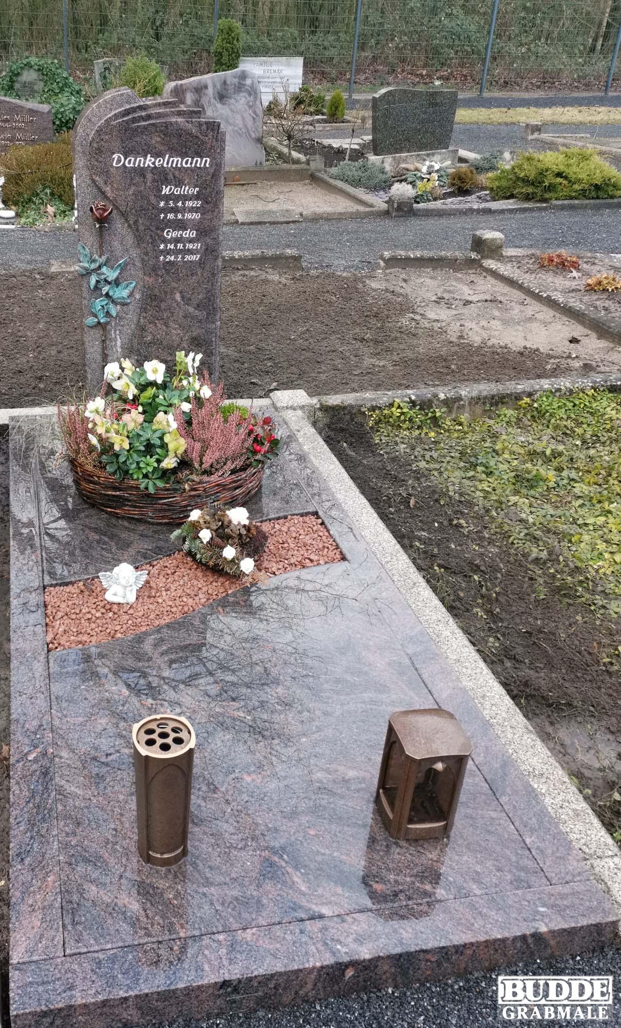 Hohne, Grabanlage mit Teilabdeckplatten