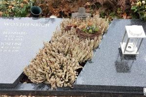 Oelde, Urnengrabanlage Urnengrabplatte