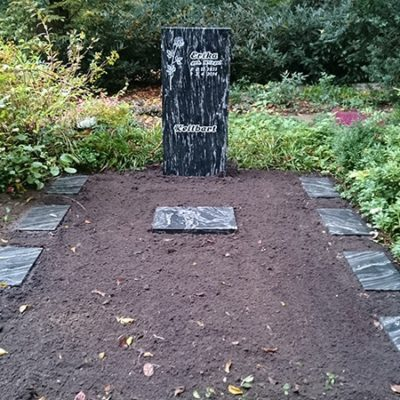 Gütersloh-Stele Doppelgrabanlage