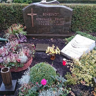 Beelen - Nachschriftstein Grabmal