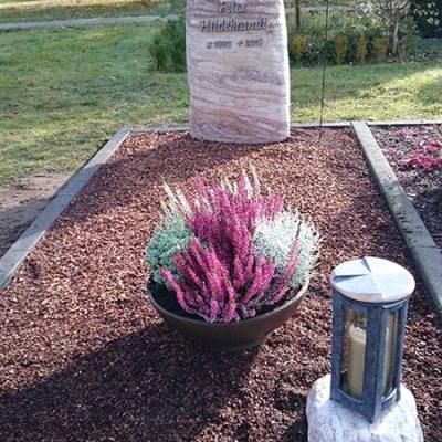 Brockhagen Denkmal mit Bronze