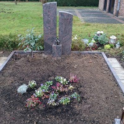Liesborn - Denkmal mit Einfassung