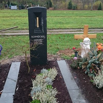 Wiedenbrück - Grabstein Stele