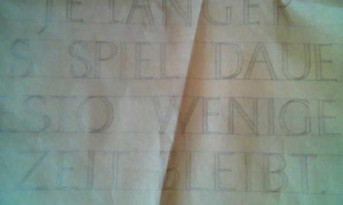 Schriftart Antiqua