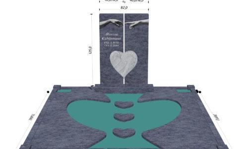Gestaltung eines Grabmals